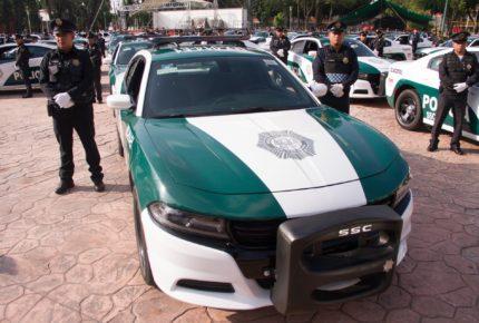 Policías huyen tras choque en la alcaldía Cuauhtémoc