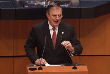 Por bloqueo en el Senado cancelan comparecencia de Ebrard