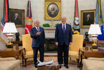 Relación AMLO-Trump, de los desencuentros a los  elogios
