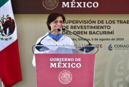 """""""Aquí les tocó vivir"""", dice directora de Conagua a tabasqueños"""