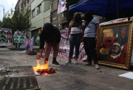 Rosario Piedra acusa a feministas de querer desaparecer pruebas