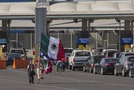 Extienden hasta diciembre cierre temporal en frontera México-EU