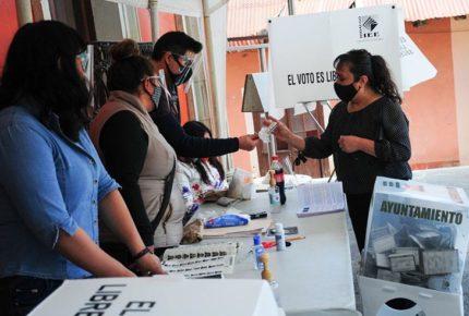 Hidalgo estima que elecciones dejaron 450 casos de Covid
