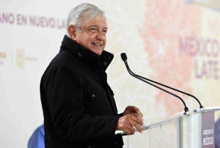 Debido a protestas, AMLO recorta su discurso en Tamaulipas