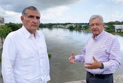 Plan contra inundaciones en Tabasco, hasta diciembre: Gobernador