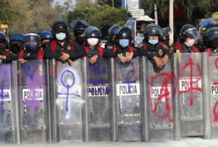 Mas de 2 mil mujeres policías resguardarán marcha del 8M