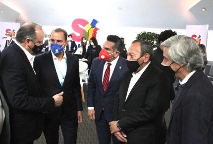 PAN, PRI y PRD perfilan alianza para la Cámara de Diputados