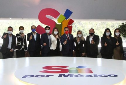 PAN, PRI y PRD suscriben alianza Va por México rumbo a 2021