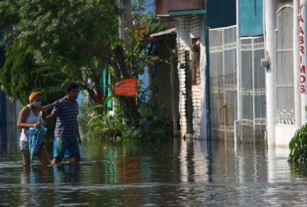 Frente Frío 13 provocará lluvias fuertes en Tabasco