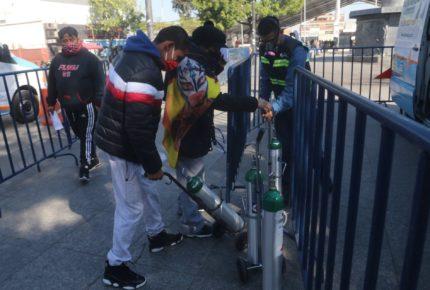 Quieren oxígeno gratuito para familias de escasos recursos en León