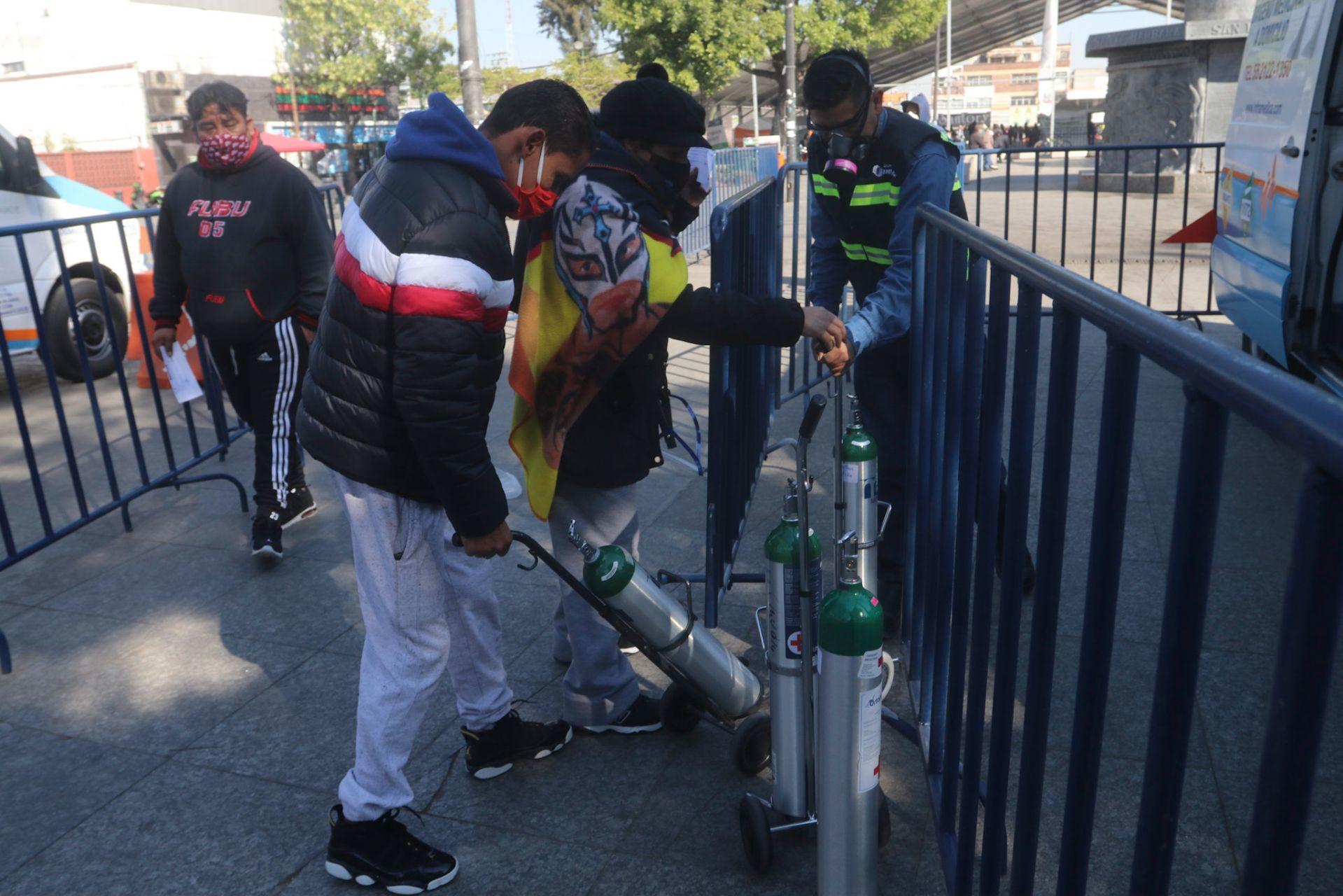 Quieren oxígeno gratuito para familias de escasos recursos en León - Eje Central