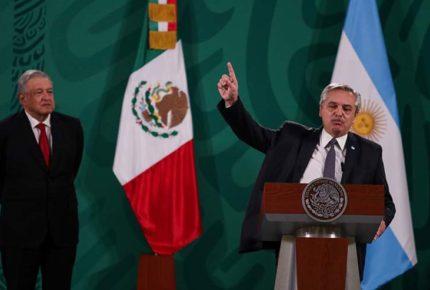 México y Argentina llaman a que ningún país de AL se quede sin vacunas