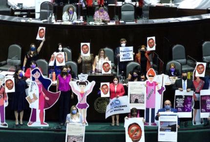 López Obrador nos escupe en la cara: mujeres de AN
