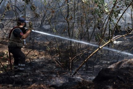 Por incendios emiten Declaratoria de Emergencia en NL