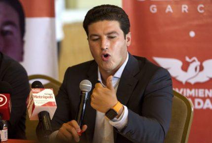De la Garza está desesperado: Samuel García; niega nexos con AMLO