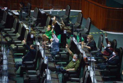 Diputados de Morena apoyan desaparición de plurinominales