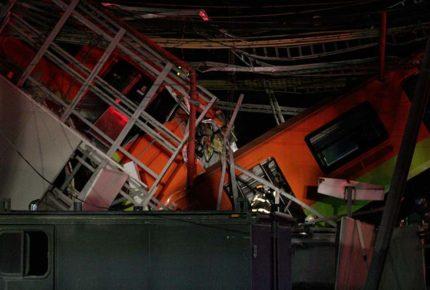 Así reportaron en el mundo el accidente de la L12 del Metro