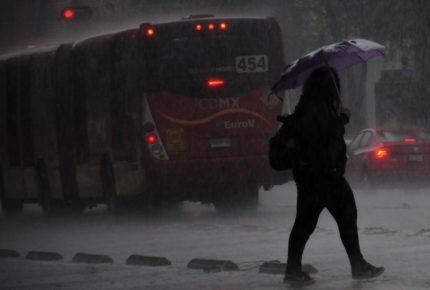 ¡Tláloc no perdona! Se espera tarde lluviosa en la CDMX