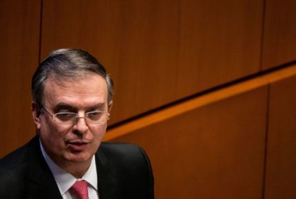 """""""La Iniciativa Mérida se acabó"""", afirmó el canciller Marcelo Ebrard"""