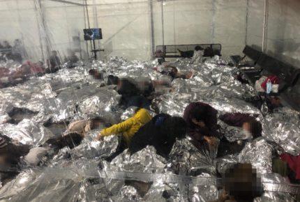 Ted Cruz filtra imágenes de niños migrantes en centros de detención