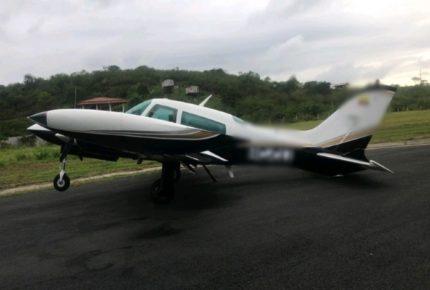 Ecuador incauta 400 kilos de cocaína en avioneta mexicana