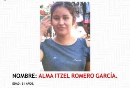 Matan a Alma Itzel, joven mixteca reportada como desaparecida
