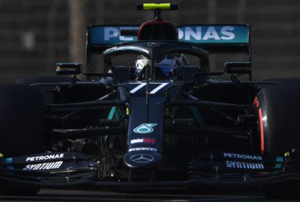 Bottas saldrá de la 'pole position' en el GP de Emilia-Romaña