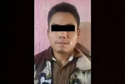 Detienen a presunto feminicida de niña de seis años