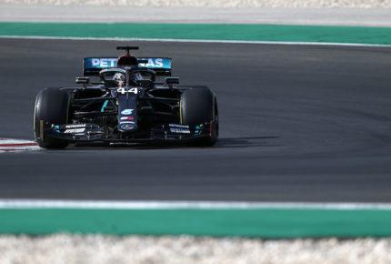 Hamilton saldrá desde la 'pole position' en el GP de Portugal