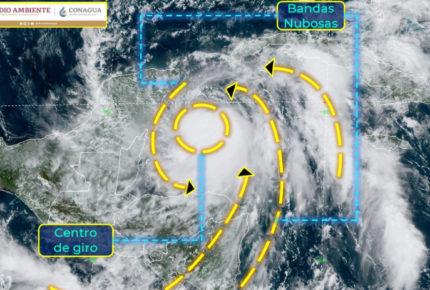 """Zeta"" se intensifica a huracán categoría uno"