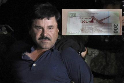 "Cajero de Sinaloa da ""Chapobilletes"""