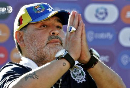Maradona se recupera de cirugía en la cabeza