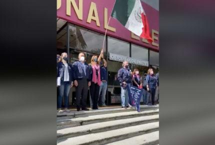 México Libre impugna rechazo de registro del INE