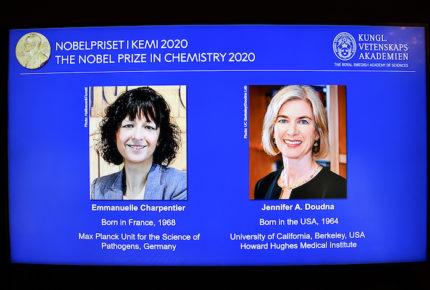 Dos mujeres científicas se llevan el Nobel de Química