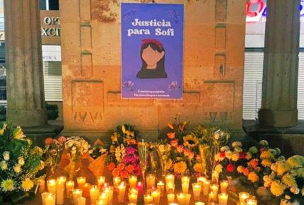 Por feminicidio de Sofía exigen justicia en Fresnillo