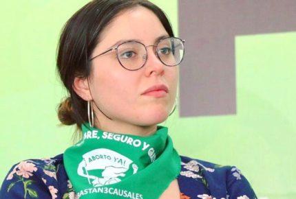 """""""Mi militancia es con las mujeres"""": renuncia Estefania Veloz a Morena"""