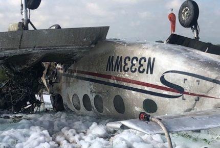 Cae avioneta en Durango; muere el piloto