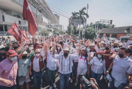 Salgado Macedonio confía en que TEPJF le devolverá la candidatura
