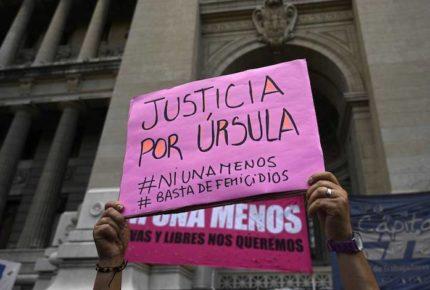 """""""Úrsula somos todas"""", el grito contra feminicidios en Argentina"""