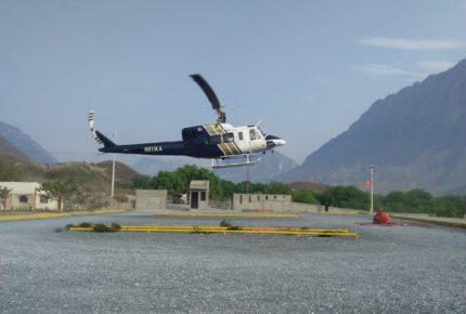 Se accidenta helicóptero en NL al sofocar incendio forestal