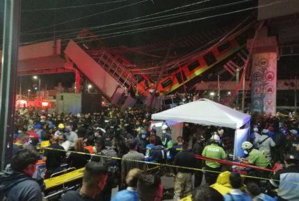 Accidente de la L12 del Metro suma 25 muertos