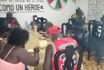 SSP Veracruz rescata a 15 migrantes de Haití y Brasil