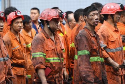 Detectan señales de vida de mineros atrapados en China