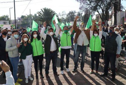 Partido Verde arranca actividades de campaña en CDMX