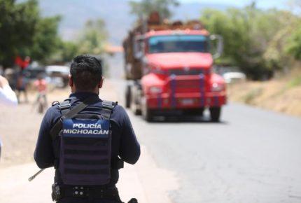 Célula del CJNG ataca con drones a la policía de Michoacán