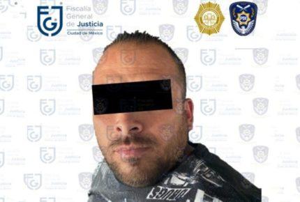 """Cae """"El Galletas"""" en la CDMX; es acusado de varios homicidios"""
