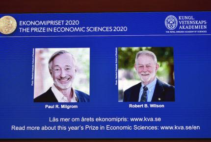 Expertos en subastas 'perfectas', los ganadores del Nobel de Economía