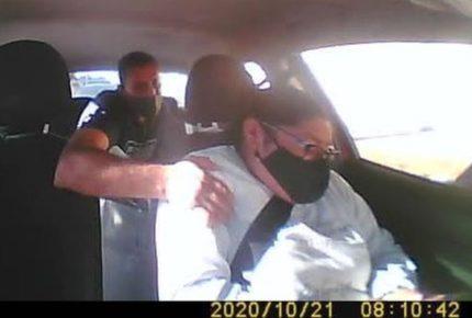 En Puebla, pasajero agrede a conductora porque tenía prisa