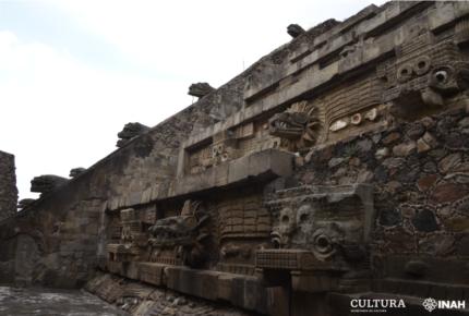 Busca INAH frenar deterioro de Pirámide de la Serpiente Emplumada