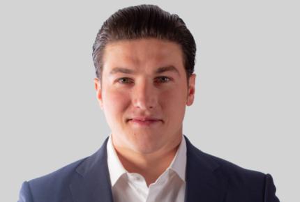 Samuel García, candidato de Movimiento Ciudadano en NL